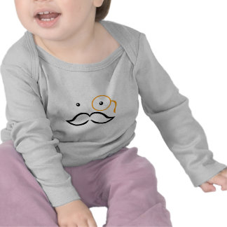 Monocle and Mustache T-shirts