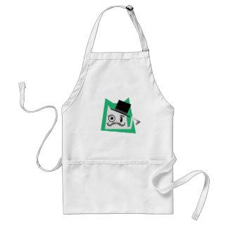Monocle Cat Apron