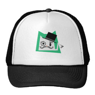 Monocle Cat Trucker Hat