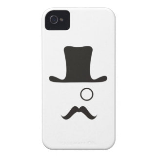 Monocle Mystery Man Case-Mate iPhone 4 Cases
