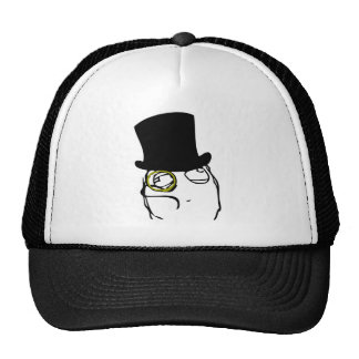 Monocled Sir Trucker Hat