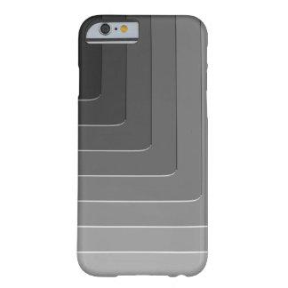 Monocromo gris del negocio funda para iPhone 6 barely there