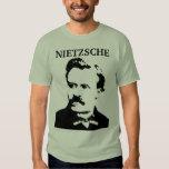 Monocromo joven de Nietzsche Remera