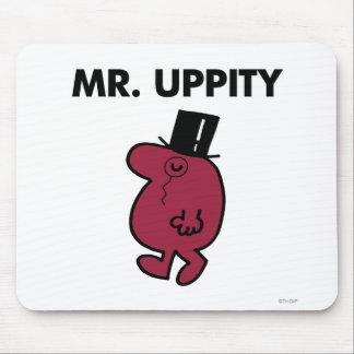 Monóculo y sombrero de copa de Sr. Uppity el | Alfombrilla De Ratones