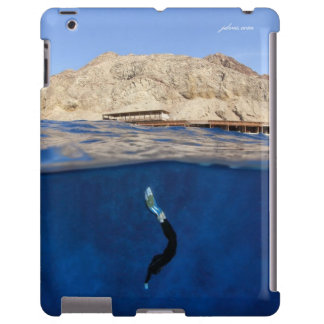 Monofin - agujero azul Dahab Funda Para iPad