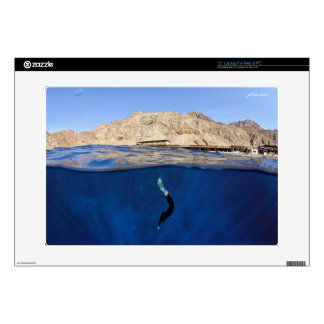 Monofin - Blue Hole Dahab Decals For Laptops