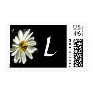 Monogram 298 Letter L Postage Stamp