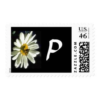 Monogram 298 Letter P Stamp