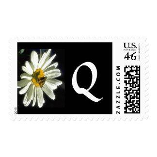 Monogram 298 Letter Q Postage Stamp