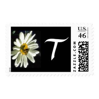 Monogram 298 Letter T Postage Stamps