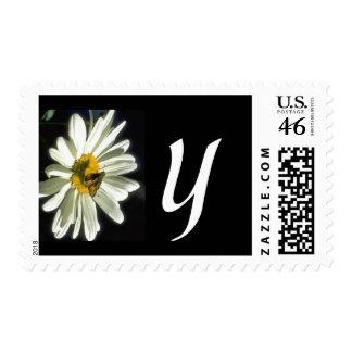 Monogram 298 Letter Y Postage Stamp