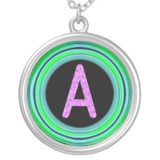 """Monogram """"A"""" Necklaces"""