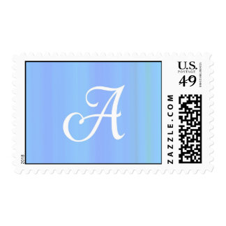 Monogram A Postage