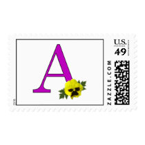 "Monogram ""A"" Postage"