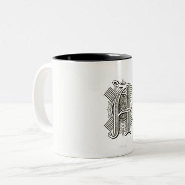 Aztec Themed Monogram A Two Tone Mug