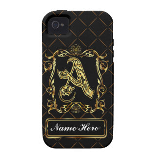 Monogram A Vibe Important View Notes Please iPhone 4 Covers