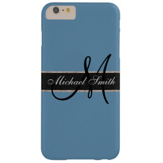 Monogram Air Force blue (RAF) Background Barely There iPhone 6 Plus Case