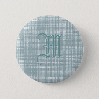 Monogram and Weave Button