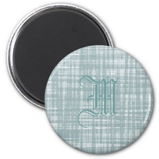 Monogram and Weave Magnet
