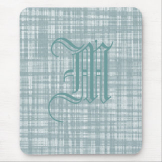 Monogram and Weave Mouse Pad