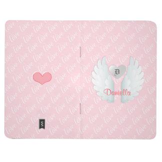 Monogram Angel Wings Journal