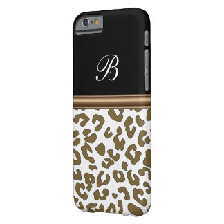 Monogram Animal Print Barely There iPhone 6 Case