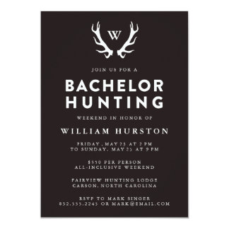 Bachelor Party Invite