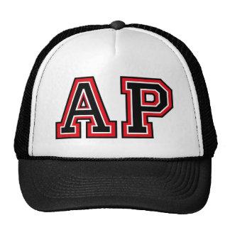 Monogram 'AP' initials Trucker Hat