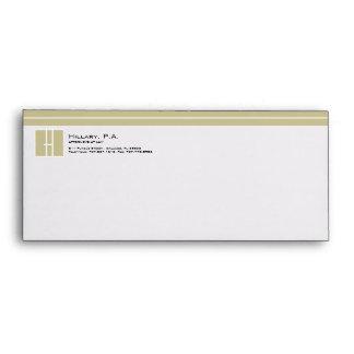 Monogram Attorney Envelopes