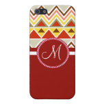 Monogram Aztec Andes Tribal Mountains Triangles Cases For iPhone 5