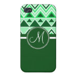 Monogram Aztec Andes Tribal Mountains Triangles Cases For iPhone 4