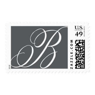 Monogram B 4 by Ceci New York Postage
