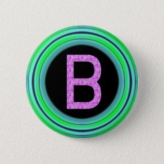"Monogram ""B"" Button"