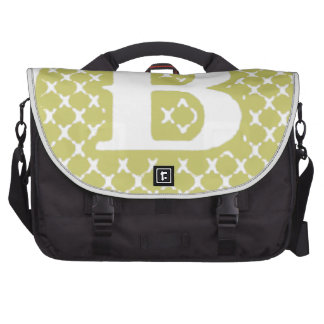 Monogram B Computer Bag