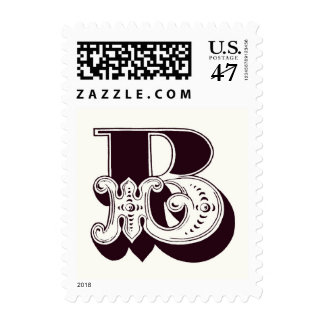Monogram B Postage