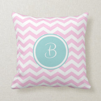 Monogram 'B' Throw Pillow