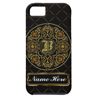 Monogram B Vibe Important View Notes Please iPhone 5 Cases