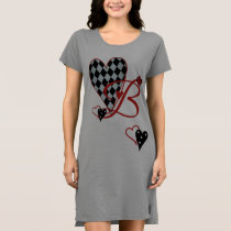 Monogram B Women's T-Shirt Dress