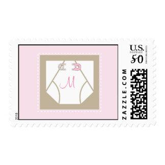 Monogram Baby Diaper Stamp