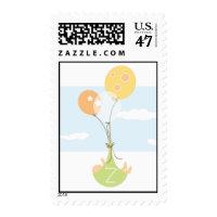 Monogram Balloon Baby Stamp