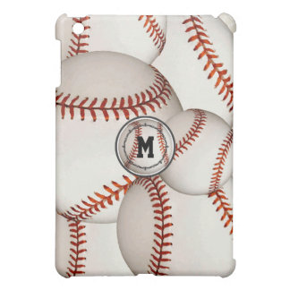 Monogram Baseball iPad Mini Case