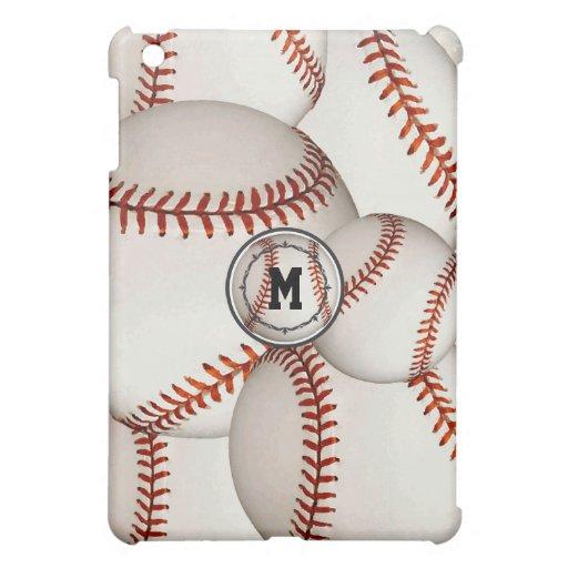 Monogram Baseball iPad Mini Case | Zazzle