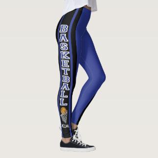 Monogram Basketball Dark Blue Leggings