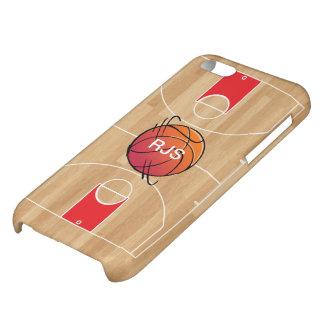 Monogram Basketball on basketball court iPhone 5C Covers