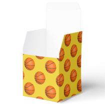 Monogram Basketball Sports Pattern Favor Box