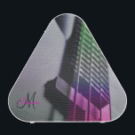 """Monogram Bass Guitar Neck Bluetooth Speaker<br><div class=""""desc"""">Monogram Colorful Bass Guitar Neck Bluetooth Speaker. A dark bass guitar with green and dark fuchsia pink light on the neck. The back side is black, with a marble like bass. Fill in your name and initial at the prompt to personalize and customize anyway you like. A very cool and...</div>"""