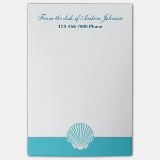 Monogram Beach Sticky Note Pads