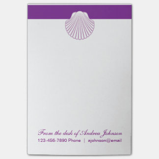 Monogram Beach Theme Post-it® Notes