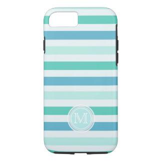 Monogram: Beachy Stripes Case