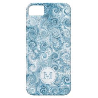 Monogram: Beachy Swirl iPhone 5 Cases
